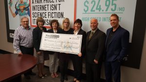 Donation - TekSavvy to Chatham-Kent Health Alliance Foundation